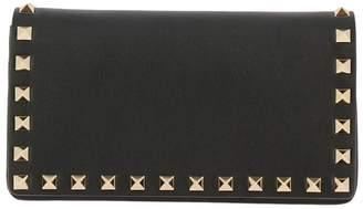 Valentino Garavani Mini Bag Rockstud Spike Mini Bag With Thin Chain Shoulder Strap And Metal Studs