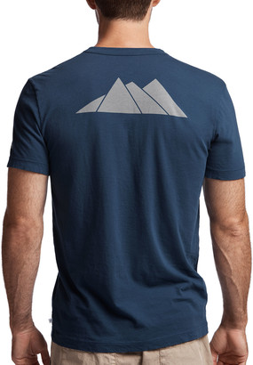James Perse ASPEN MOUNTAINS GRAPHIC TEE