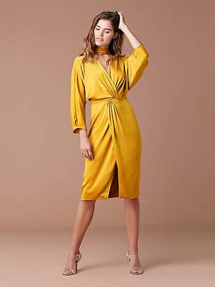 Diane von Furstenberg Front Twist Dress