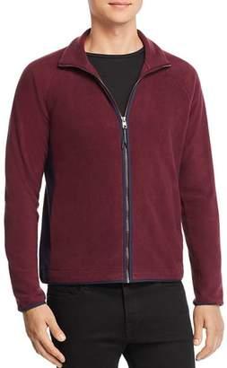 Michael Kors Contrast-Trimmed Zip-Front Fleece Jacket - 100% Exclusive