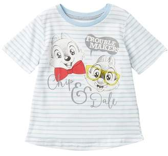 HAPPY THREADS Disney Classic Chip & Dale Trouble Maker Tee (Toddler Boys)