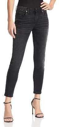 Blank NYC BLANKNYC Embellished Tuxedo Stripe Skinny Jeans in Superwoman - 100% Exclusive