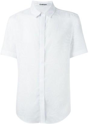 Chalayan classic short sleeve shirt