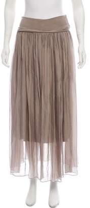 LOLA Cosmetics Chiffon Maxi Skirt
