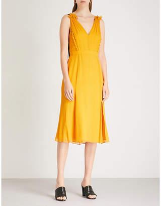 Prabal Gurung Side-split silk-chiffon dress