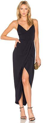 Shona Joy Cocktail Draped Dress