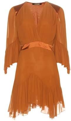 Roberto Cavalli Silk-chiffon minidress