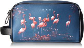 Ted Baker Men's Flamino Flamingo Print Wash Bag