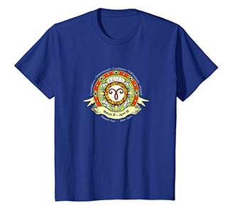 Aries Western Astrology Zodiac Sun Sign Celestial T Shirt