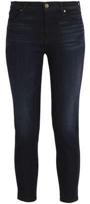 J Brand Cropped Mid-rise Slim-leg Jeans