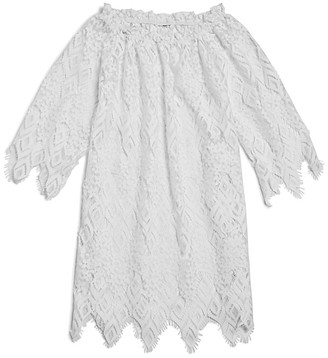 Peixoto Girls' Rose Lace Dress Cover Up - Big Kid $62 thestylecure.com