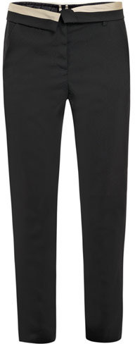 A.L.C. Jude contrast-waist tuxedo trousers