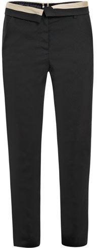 A.L.C. Jude contrast-waist tuxedo trousers
