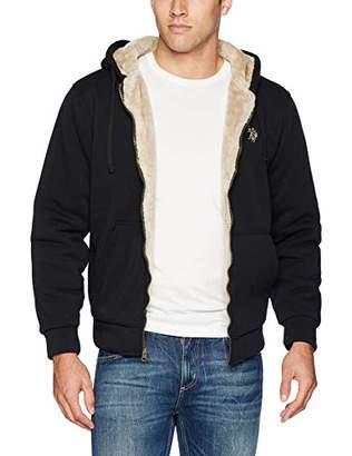 U.S. Polo Assn. Men's Fleece Sherpa Hoodie