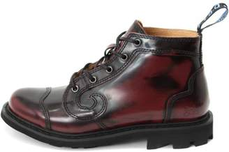 John Fluevog Burgundy Derby Boot