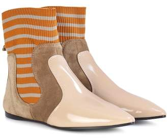 Acne Studios Amalee suede ankle boots