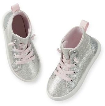 Carter's Sparkle Hightop Sneakers