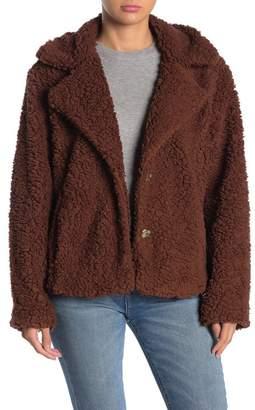 Caslon Fleece Jacket (Regular & Petite)
