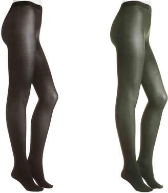 HUE Hosiery Opaque Tights - 2 Pack - Women's