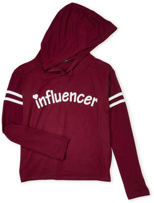 Miss Popular (Girls 7-16) Influencer Varsity Hooded Tee