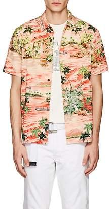 RRL Men's Beach-Print Jersey Shirt