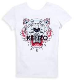 Kenzo Toddler's, Little Girl's& Girl's Tiger Cotton Tee