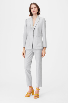 Rebecca Taylor Tailored Clean Suiting Blazer