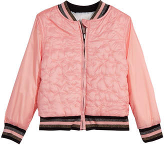 Epic Threads Little Girls Reversible Faux-Fur Bomber Jacket