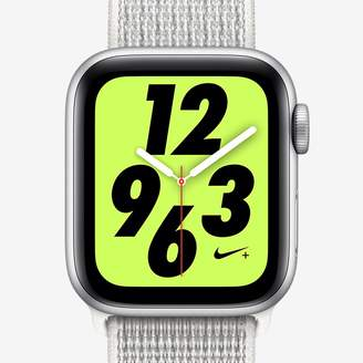 Nike Apple Watch Series 4 (GPS + Cellular) with Sport Loop 40mm Sport Watch