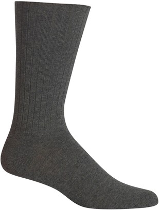 Chaps Men's Ribbed Crew Socks