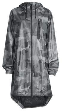 Rains Camo-Print Raincoat