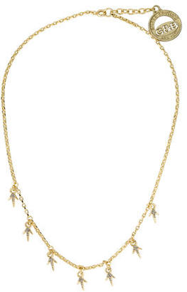 Giles & Brother Crystal Pave Thorn Necklace $50 thestylecure.com