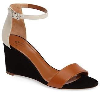 Aquatalia Nina Ankle Strap Wedge Sandal (Women)