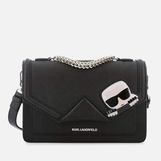 Karl Lagerfeld Women's K/Ikonik Classic Shoulder Bag