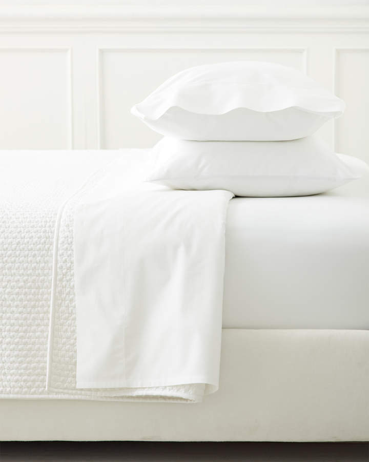 Extra Classic White Sateen Pillowcases (Set of 2)