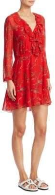 IRO Lucine Floral-Print Dress