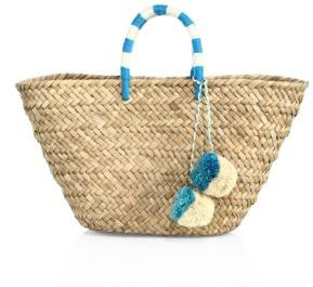KAYU St. Tropez Woven Seagrass Tote $125 thestylecure.com