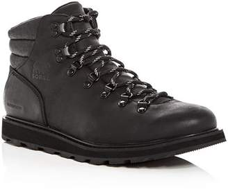 Sorel Men's Madson Hiker Waterproof Leather Lace Up Boots