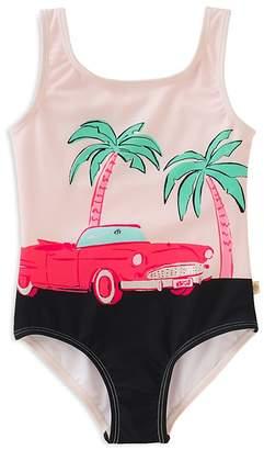 Kate Spade Girls' Road Trip Swimsuit - Big Kid