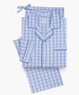 Brooks Brothers (ブルックス ブラザーズ) - 【オンライン限定SALE】コットンポプリン ラージプラッド パジャマ Traditional Fit