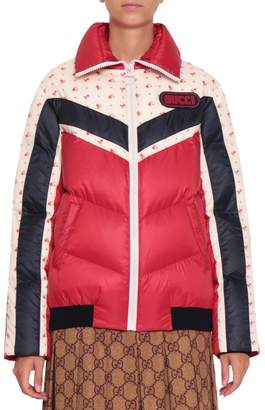 Gucci Colorblock Down Jacket