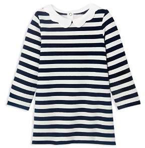 Jacadi Girls' Striped Fleece Dress - Baby