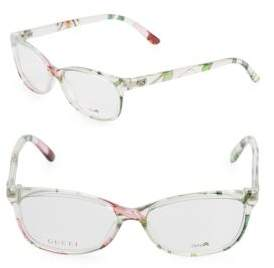 Gucci 55MM Printed Optical Glasses