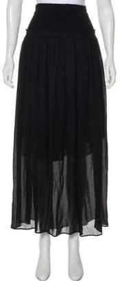 Isabel Marant Distressed Maxi Skirt