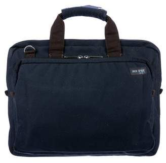 Jack Spade Bicolor Canvas Briefcase