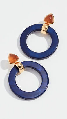 Lizzie Fortunato Hoop Earrings