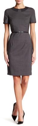 BOSS HUGO BOSS Danyka Wool Blend Dress $595 thestylecure.com