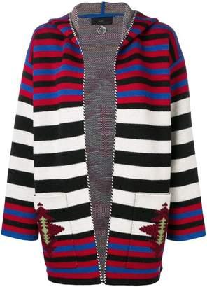 Alanui knit striped cardigan