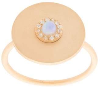 Ileana Makri Eye M By embellished disc ring