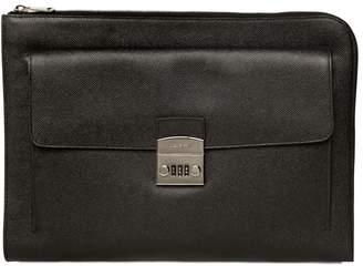 Dolce & Gabbana Dauphine Leather Document Holder
